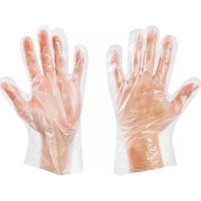 Γάντια Μιας Χρήσης Πολυαιθυλενίου Διάφανα 100τεμ