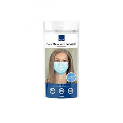 Μάσκες ABENA Type IIR BFE 98% με λάστιχο – 10 ΤΜΧ
