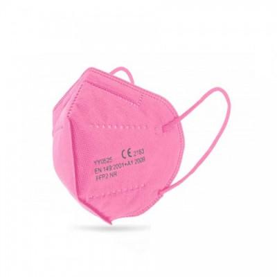 Μάσκα Προστασίας Ροζ KN95 - FFP2 1 τεμάχιο