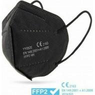 Μάσκα Προστασίας Μαύρη KN95 - FFP2 1 τεμάχιο