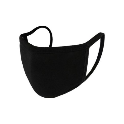 Μάσκα Υφασμάτινη Μαύρη Πολλαπλών Χρήσεων Βαμβακερή 100%