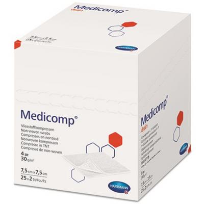 Hartmann Medicomp γάζα Αποστειρωμένη non-woven ( 4πλά 10cm x 10cm 2 x 25τμχ)