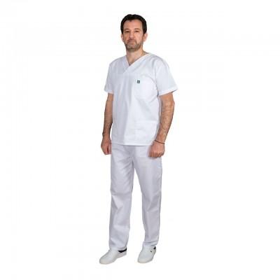 Ιατρική Στολή Unisex – Άσπρο