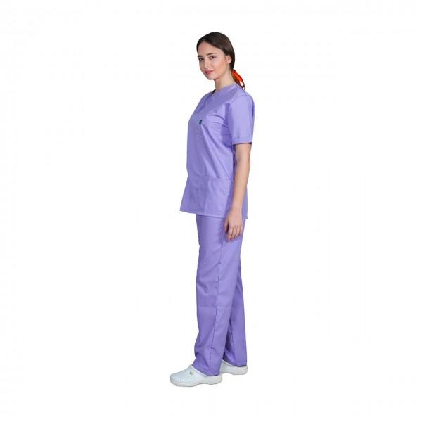 Ιατρική Στολή Unisex – Μωβ