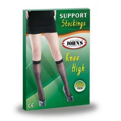 Κάλτσες Φλεβ. Mάυρες ΚΓ 240 DEM JOHN'S®